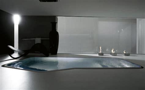 bathtub in the floor large luxury bathtub or small interior swimming pool