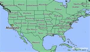 where is modesto ca where is modesto ca located in