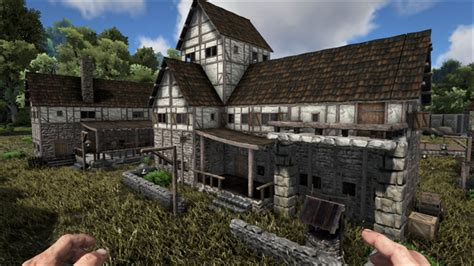 ark house design xbox one steam workshop medieval structures ark pinterest