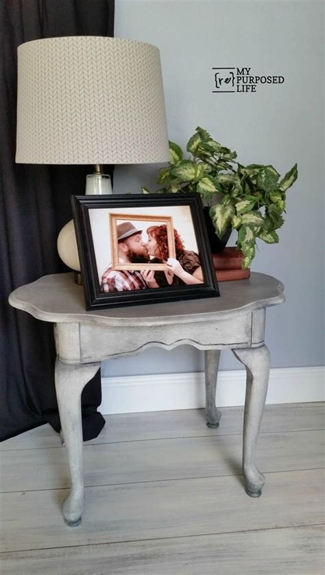 painted thrift store table and chairs side table makeover my repurposed life