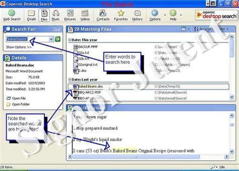motore di ricerca interno copernic desktop search motore di ricerca interno