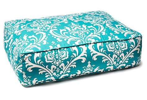 turquoise dog bed bright turquoise dog bed on onekingslane com all things
