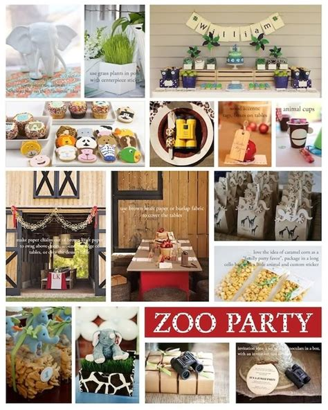 zoo themed birthday party pinterest 1000 images about holiday parties on pinterest zoo