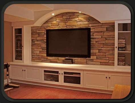 Rustic Kitchen Faucets by Stone Fireplace And Stone Tv Wall