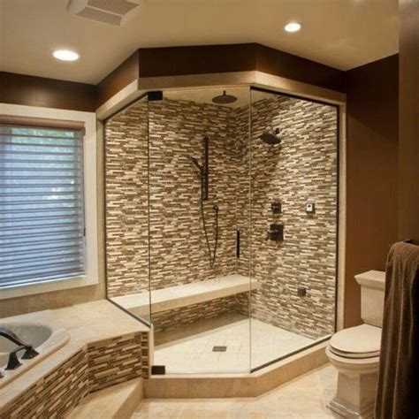 corner bathtub design ideas bathroom shower remodel ideas wooden wall mounted cabinets cool glass sliding doors