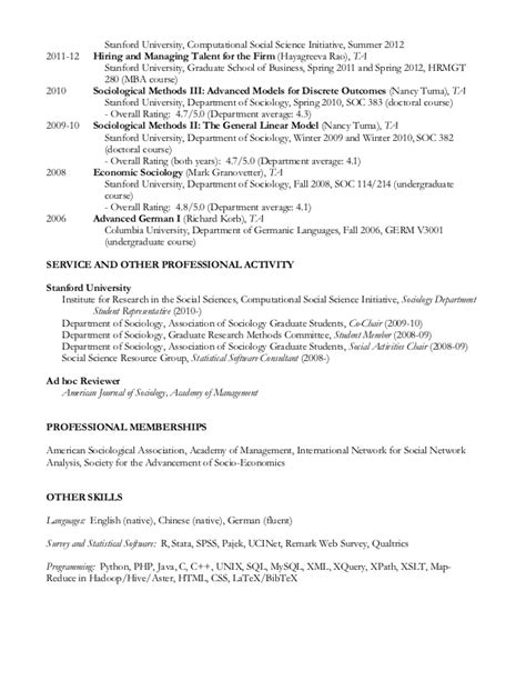 stanford school sle resume resume template stanford choice image