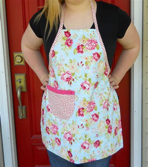 apron pattern simple kathys cottage easy apron tutorial