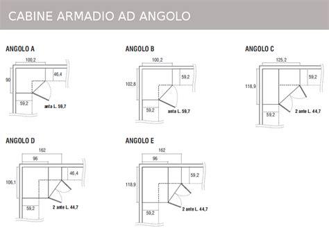 misure cabine armadio angolari mobili doimo cityline misure e componibilit 224