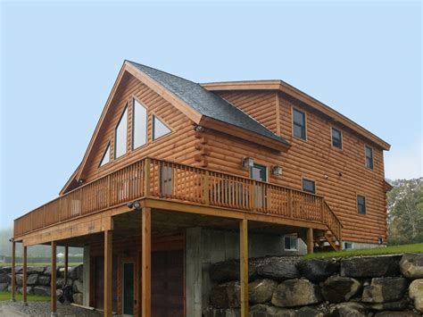 hillside home designs coventry log homes our log home designs tradesman