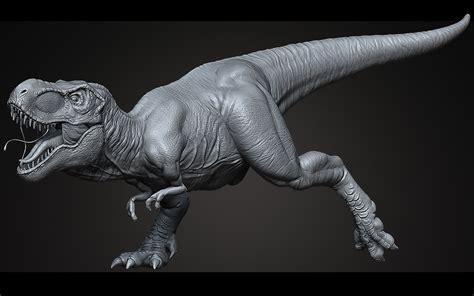 zbrush tutorial t rex 3d model sculpt tyrannosaurus rex ztool