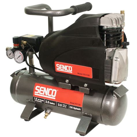 senco pc1130 1 5 hp 2 5 gallon lube carry air compressor
