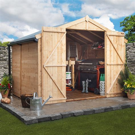 Garden Sheds 10 X 7 by Billyoh 7 X 10 Windowless Tongue And Groove Apex Garden