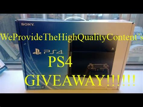 Ps4 Free Giveaway - new march ps4 giveaway ps4 giveaway march 2015 open free ps4 enter now youtube