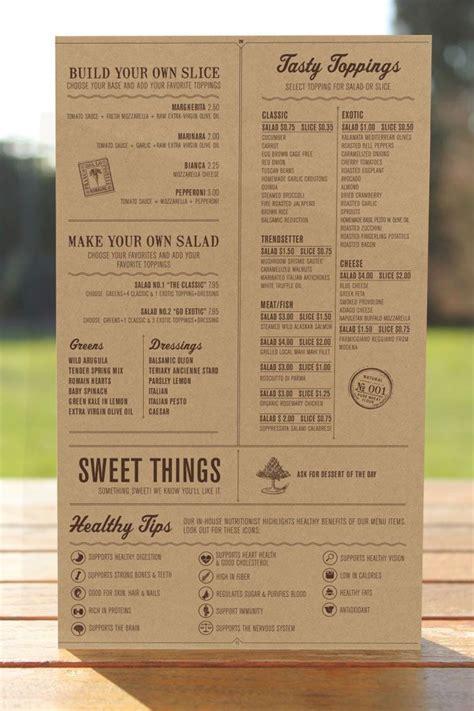 Menu Design Vorlagen 13 besten speisekarten vorlagen bilder auf