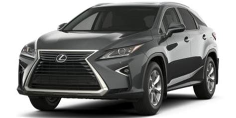 2017 lexus rx 350 wheel and rim size iseecars.com