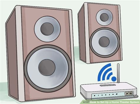 Harga Tv Merk V One 4 ways to set up a home theater system wikihow