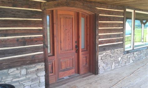 Rustic Front Doors For Homes Log Home Entrance Doors Quotes