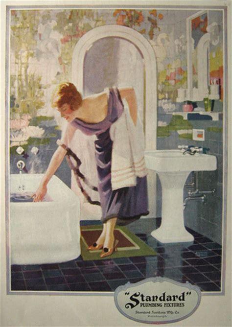 Standard Plumbing by 1923 Standard Plumbing Ad Andrew Loomis Vintage