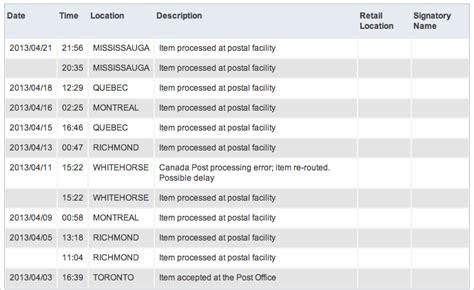 ebay global shipping tracking i shipped something from toronto to mississauga using