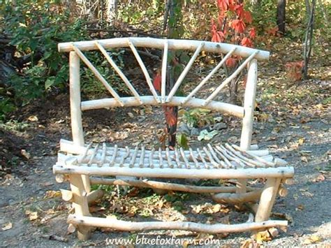 willow bench rustic bench how to build your perfect twig and