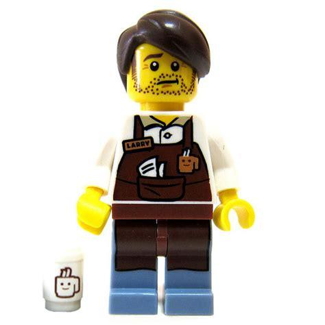 Lego Minifigures The Lego Larry The Barista larry the barista the lego 2014 71004 minifigures series