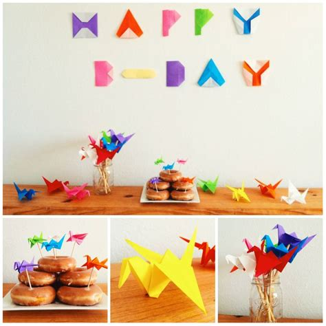 Birthday Themed Origami | origami themed party d i y pinterest themed parties