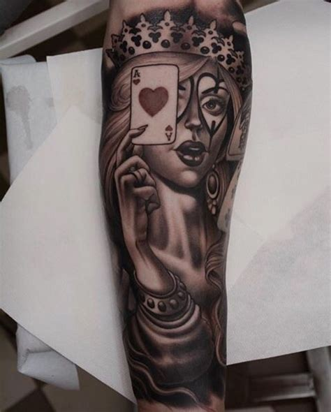 queen of hearts tattoo best 25 of hearts ideas on