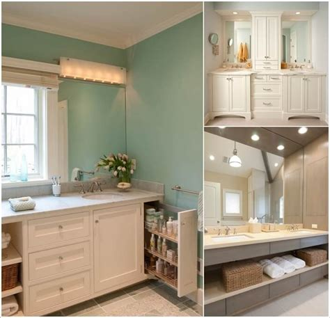 bathroom vanity storage ideas brilliant white bathroom