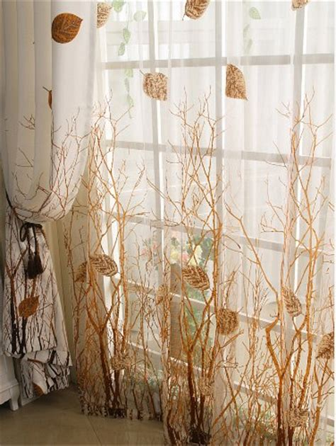 fall curtain ideas fall color drapes to spruce up your room for autumn