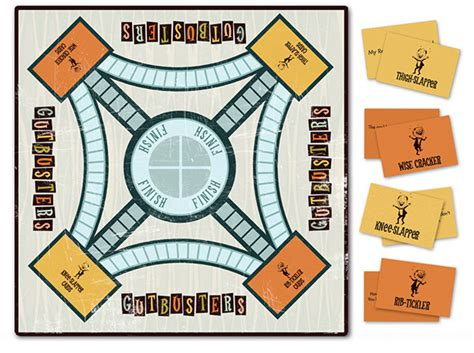 home design game rules gutbusters board game on behance