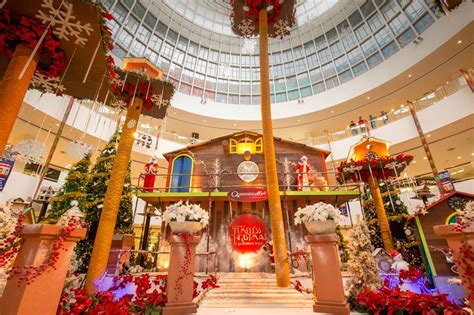 malls decorated in christmas photos says top 10 must selfie mall decorations this 2014