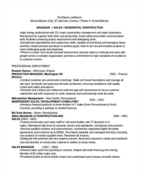 Construction Qc Manager Resume by Quality Resume Sles Visualcv Resume Sles