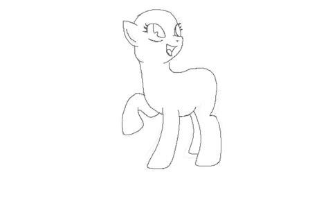 pony template visual fan art mlp forums
