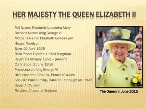 elizabeth ii last name list of current member s of brithish royal family