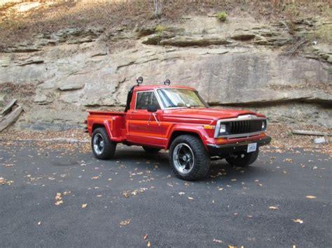 jeep honcho stepside 1983 jeep honcho stepside truck for sale photos