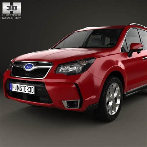 subaru forester us subaru forester us 2014 3d model humster3d
