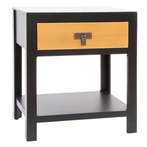 comodino orientale giapponese nero oro mobili cinesi