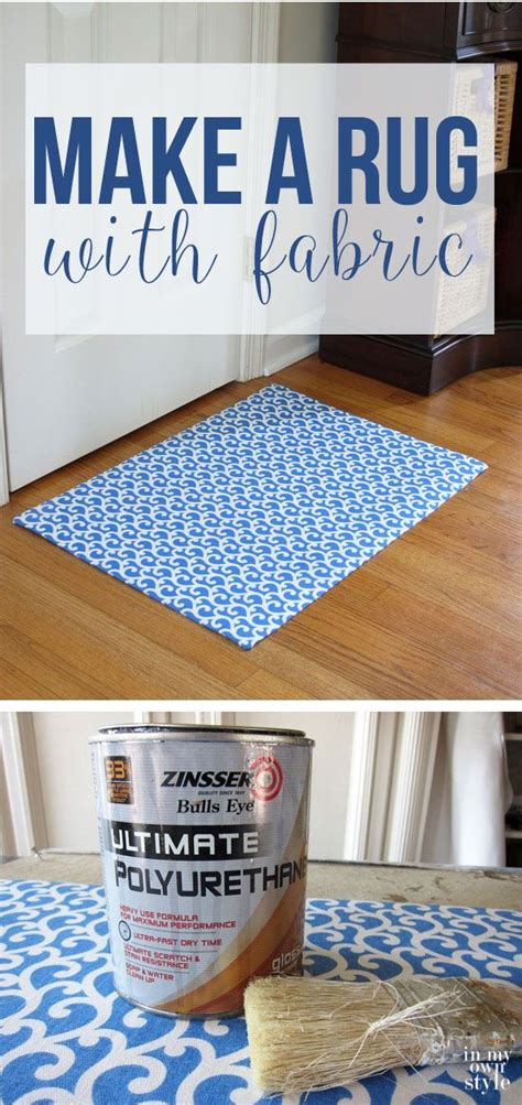 How To Make A Rug Out Of Fabric Scraps how to make a custom rug out of fabric vinyls custom