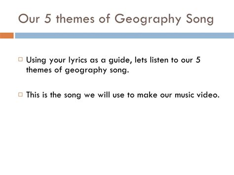 5 themes of geography study guide july 15 introduction to 5 themes of geography