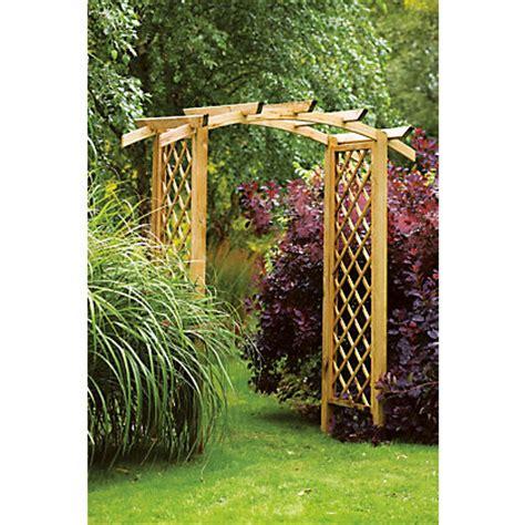 Homebase Garden Trellis Forest Genoa Garden Arch