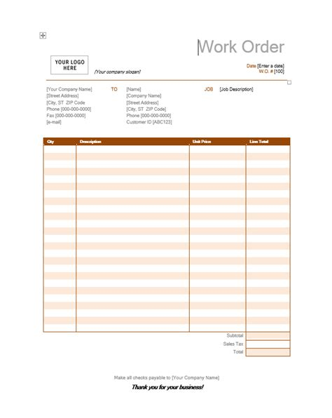 painting receipts template painting invoice template free word templates