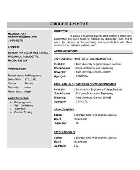 resume format for freshers word doc it fresher resume 6 free word pdf documents free premium templates