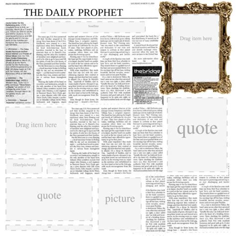 daily prophet template polyvore