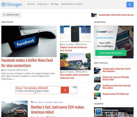 blogger keren download template blogger keren dan gratis i