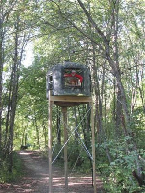 Bow Hunting Blind Plans Farm Show Poly Tank Deer Stand