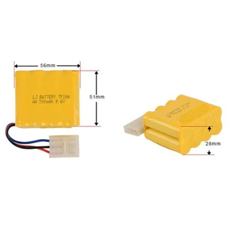 Battery Ni Cd Aa 700mah 3 6v 9 6v 700mah li ion rechargable ni cd aa 8 molde x battery