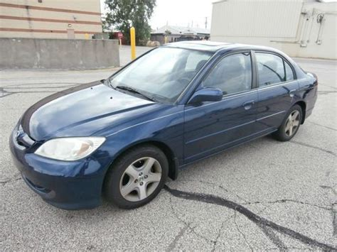 find used 2004 honda civic ex sedan 4 door 1 7l in north