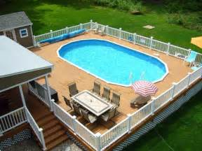 swimming pool decking cool above ground swimming pools ideas grezu home