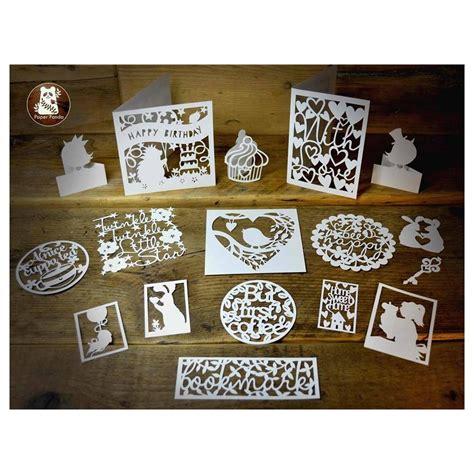 diy new year paper cutting papercutting diy kit 18s