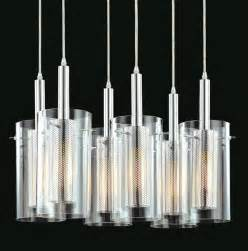 modern lighting chandeliers sonneman zylinder 6 light modern pendant chandelier
